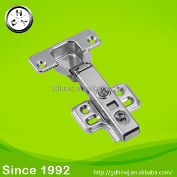 Soft Closing Hydraulic Furniture Cabinet 304 Stainless Steel Hinges