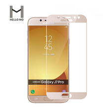 Factory Price Premium 3D Curved galaxy J7 Pro tempered glass screen protector guard for Samsung Galaxy J7 Pro