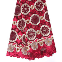 Top quality embroidered indian dress laces / wholesale organza fabric / swiss french organza lace for big party
