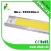 Manufacturer COB Epistar Chip Led Strip 20w 24v 2000lm linear high CRI