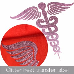 Factory wholesale low price fashion design heat transfer label , accept custom size for cloth with your logo
