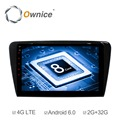 Ownice C500+ 10.1inch Octa Core 32GB ROM Android 6.0 Car Radio Player for Skoda Octavia 2014 - 2017 Support TPMS