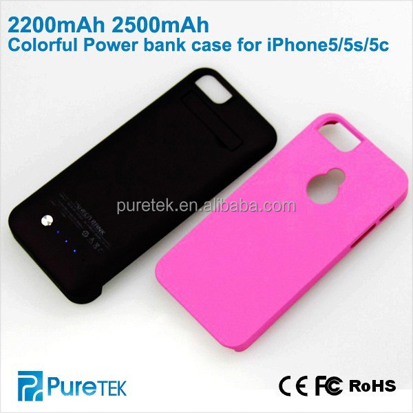 Mobile Phone Case Battery 2200mah 2600mah For iphone5 5c 5s On Alibaba English
