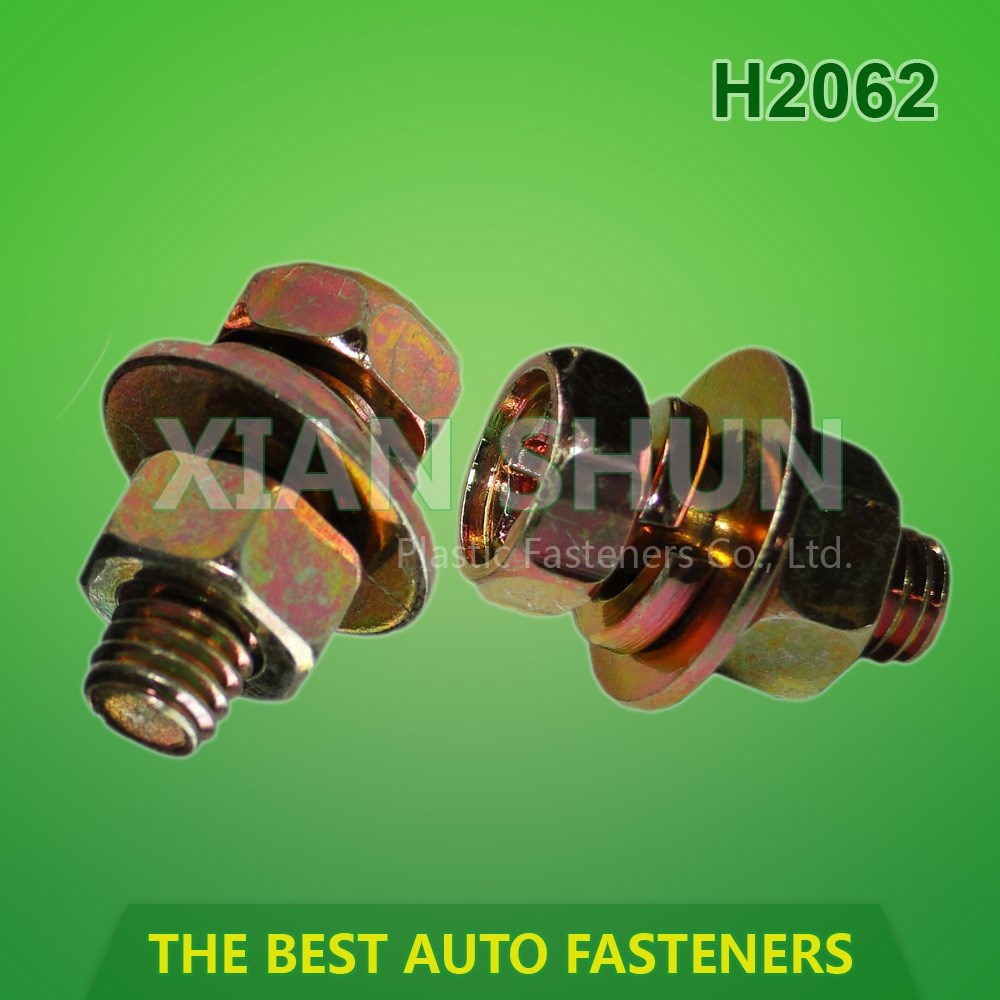 Auto Metal Fastener and nuts screws for Automotive Body hardware assortments