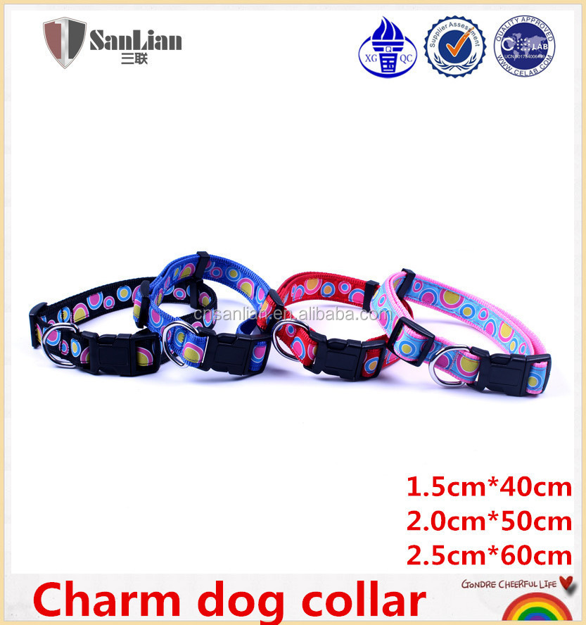 Eco-Friendly & Stocked Dog Nylon Collar Pet collar wholesale pet products