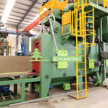 Roller Conveyor Shot Blasting Machine for Cleaning I Beam H Beam Steel Structure