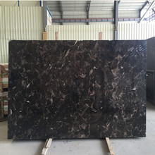 Own quarry stock natural dark brown chinese emperador marble