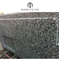 Customized dimension Spray White Granite for countertop