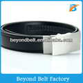 "Beyond Men's 1-3/16"" Black Cowhide Leather Ratchet Belt with Automatic Buckle"