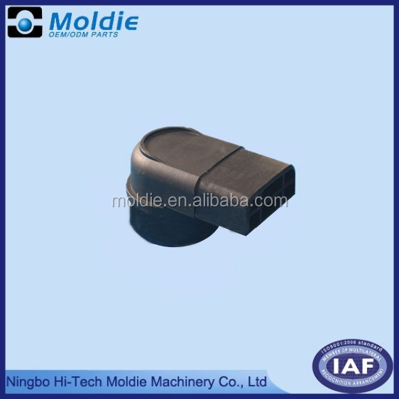 plastic molding part for electrical connector