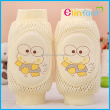 Elinfant washable elastic baby knee pads 100% cotton kneecap