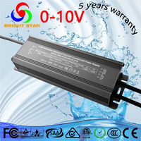 220 volt led circuit 0-10v constant current dimmable 80w led driver led power supply