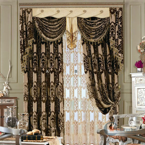 luxury curtain binding tape for living room