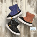 ultra-light kids winter boots with woolen