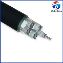 0.6/1KV aluminum conductor electric PVC power cable