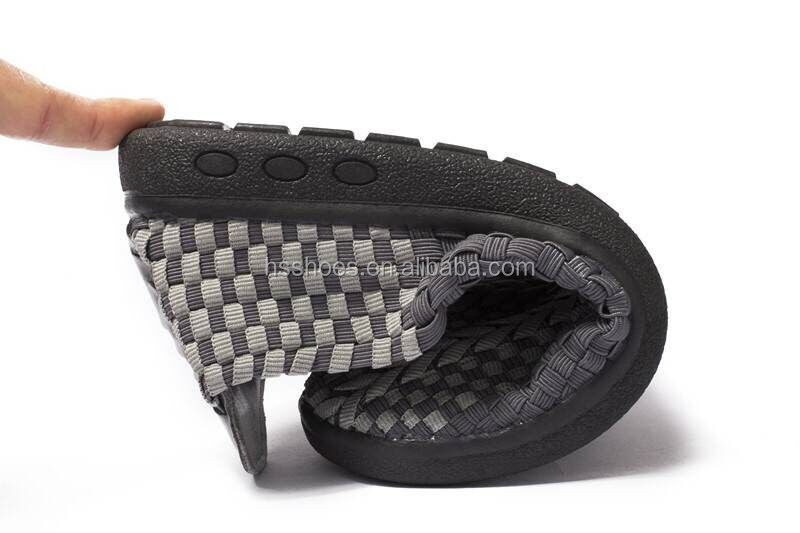 Men and women woven weave shoes