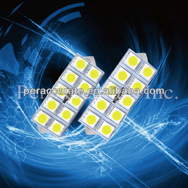For VW use 10SMD LED Luggage 5050 Dome Light 12V LED Lights PA