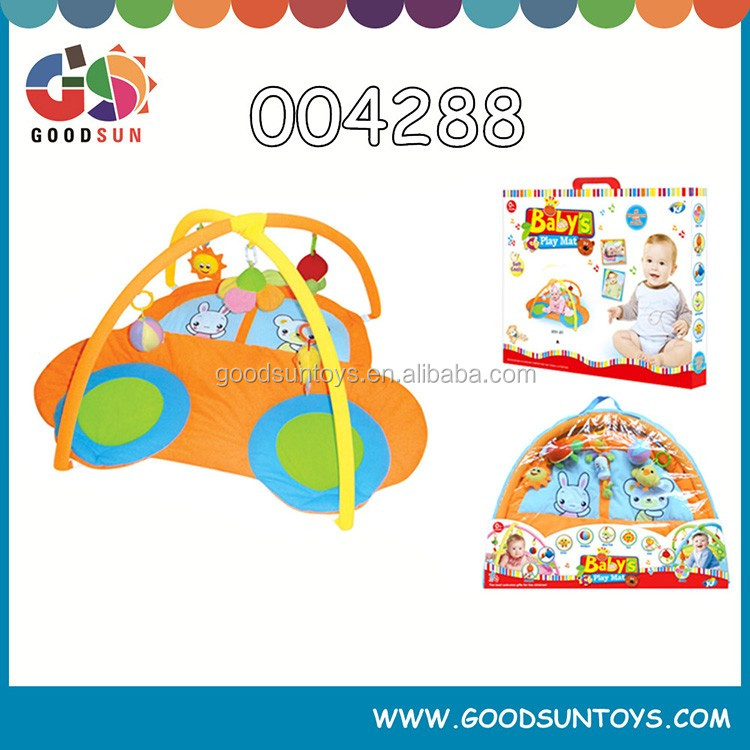 2015 New product best baby gym mat baby car play mat cheap safes non-toxic Through the EN71 certification