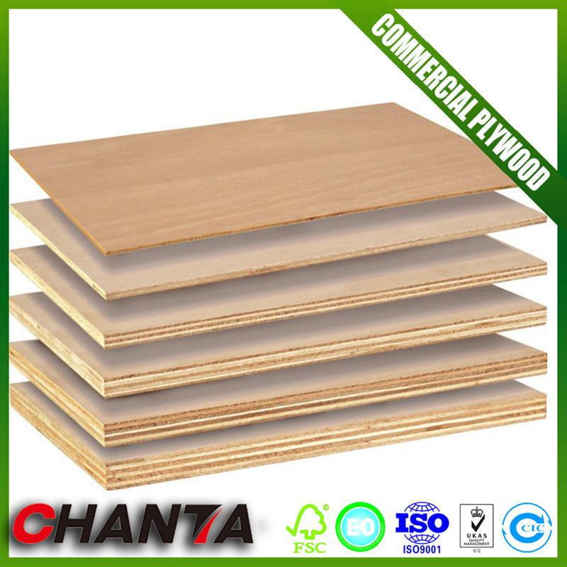 Good Price commercial plywood board 16mm