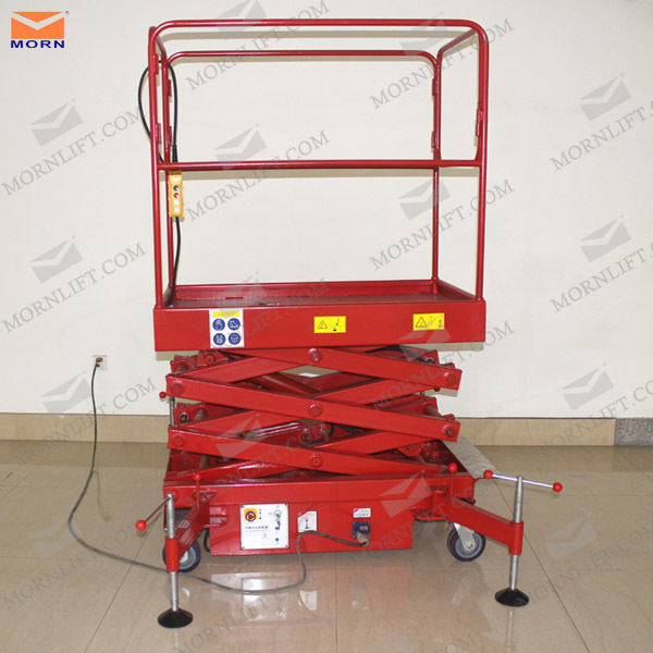 portable electric mini manual scissor hydraulic lifter,mobile scissor hydraulic lifter price