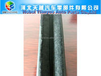 Window glass run channel rubber Flocked sealing strip