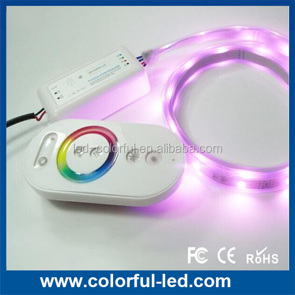 color wheel ring rgb led remote controller