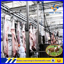 Cow Slaughter Abattoir Assembly Line/Equipment Machinery for Beef Steak Slice Chops