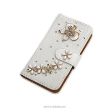 Hot Selling Bling Pouch Cover Diamond Phone Cases for lg stylo 2,For Lg Stylo 2 Wallet case cover
