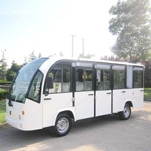 Aluminum Hard Door Electric Shuttle Bus with 14 Seats (DN-14F)