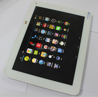 2014 newest RK3188 Quad-Core 9.7 inch 4G LTE tablet pc front and rear camera