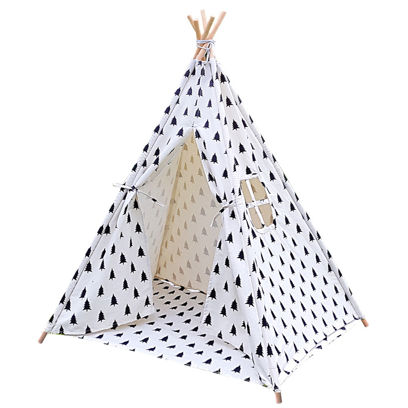 Factory wholesale classic baby sleeping tent kids tipi indoor teepee