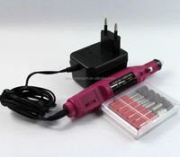 Wholesale nail drill made in China fashion golden electric nail file