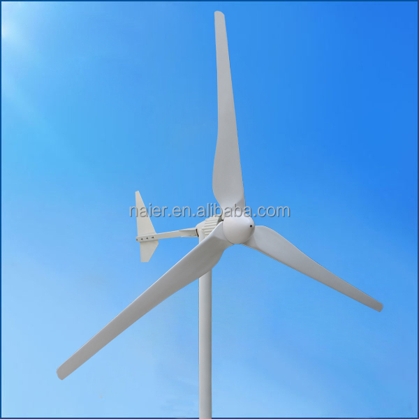 2kw horizontal low rpm wind power generator 48/96v with CE certification