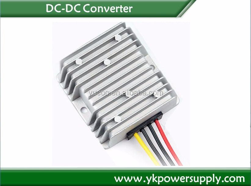 new invention 2014 100~200w dc car converter 48v to 12v