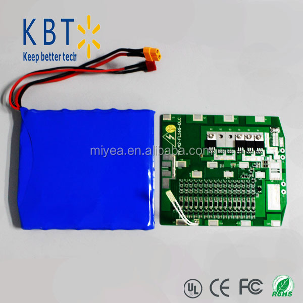 60v 2200mAh 16S1P rechargeable Li-ion battery pack