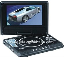 9-Inch Swivel Screen Multi Region Free Portable DVD Player - 4.5 Hour Long Battery Life - USB/SD...