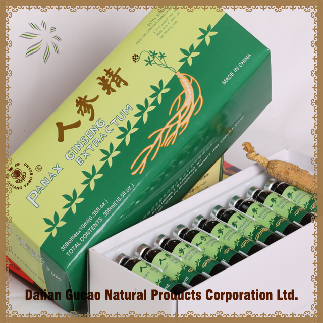 Panax Ginseng Extract Oral Liquid/drink Health food Best gifts