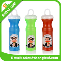 Customized logo plastic sport water drinking bottle for promotional
