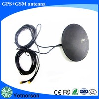 High Gain GPS GSM Combo Wireless Antenna GPS+GSM antenna RG174 cable