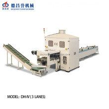CE,ISO Certification High capacity uesd paper roll to sheet cutting machine