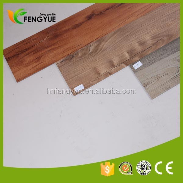 4*36 24x24 Luxury Vinyl Plank woven Vinyl floor tiles for hot sale
