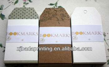 Customed Bookmark (Paper Card)