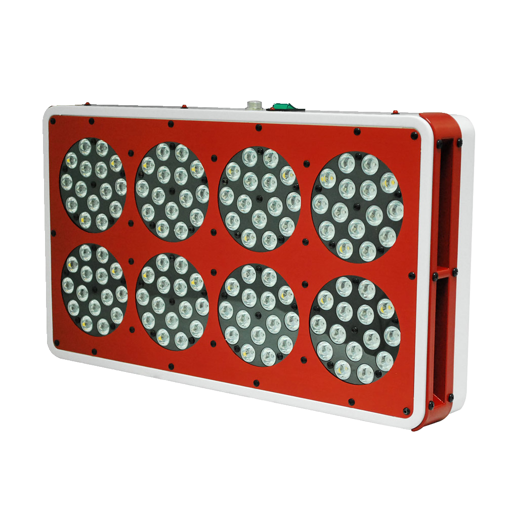 120x3W Full Spectrum apollo 8 6 bands led grow lights