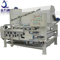 Belt Dewatering Filter Press for sludge dewatering