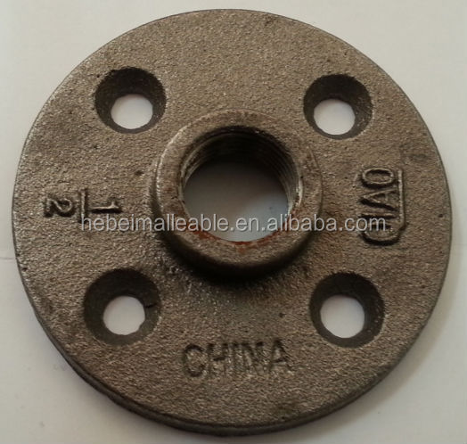 Black ductile cast iron pipe fittings flange buy