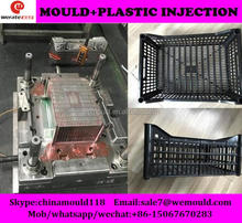 high quality used plastic fruit crate mould