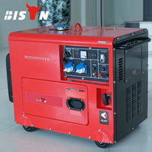 BISON(CHINA) BS6500DSE 5KW Electric Start Copper Wire Long Run Time Reliable Factory Price Matrix Diesel Generator