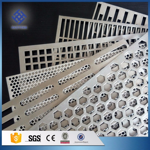30 Years' factory supply perforated template formwork