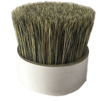 Wholesale good price pig hair door bottom brush,bristle For the production of brushes