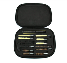 Handgun Pistol Cleaning Kit in Compact Molded Field Carry Case